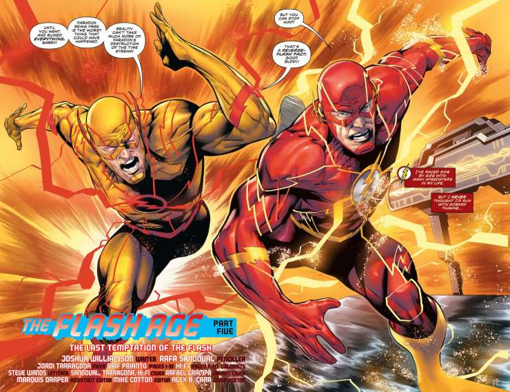 The Flash is on the run as 'The Flash Age' continues!