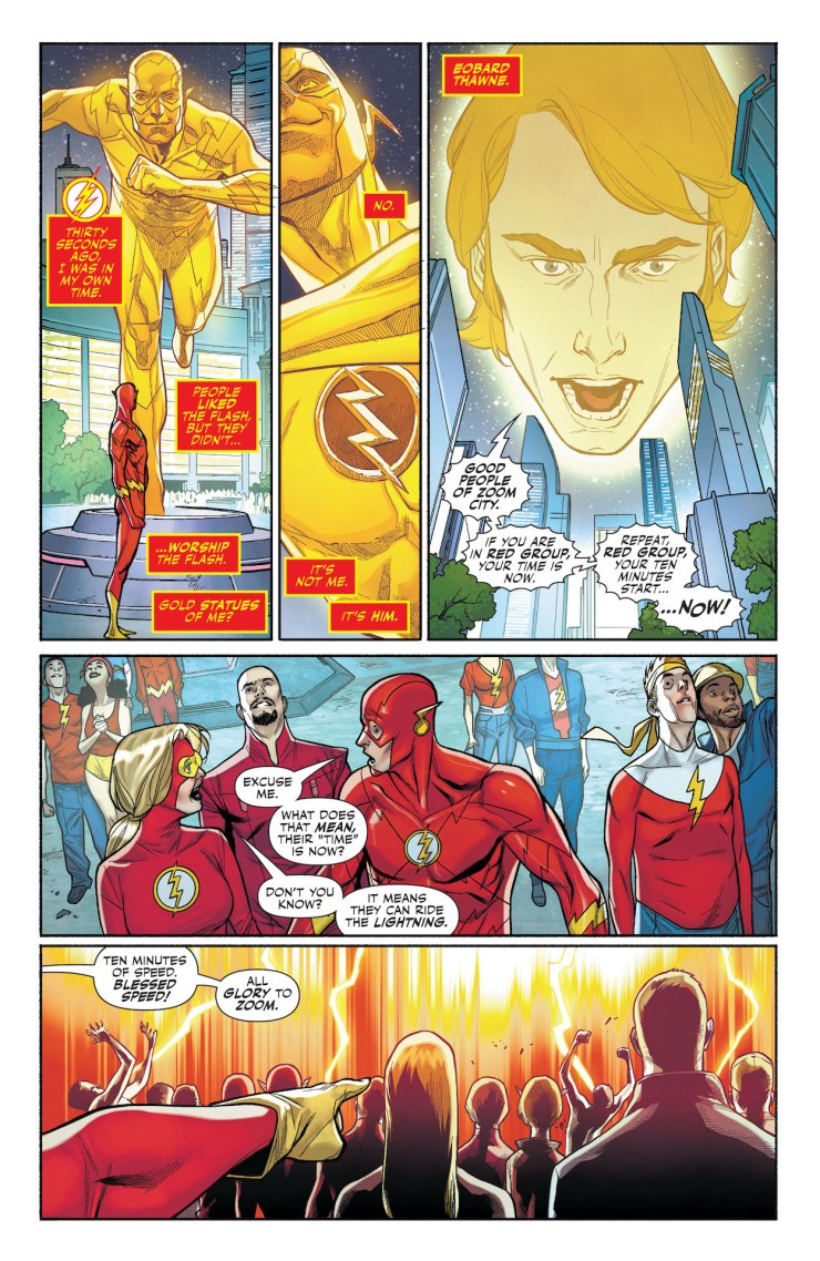DC Preview: The Flash: Fastest Man Alive #4