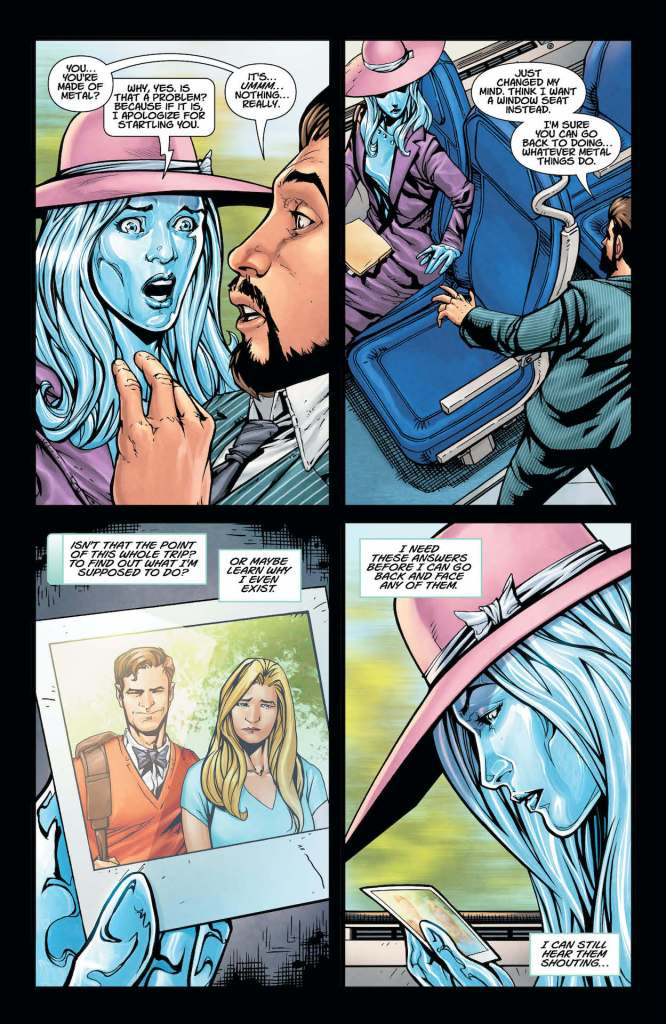 DC Preview: Metal Men #6
