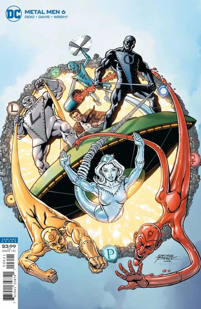 Metal Men #6 DC Comics