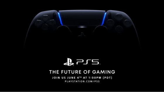 PS5 games and gameplay will be shown.