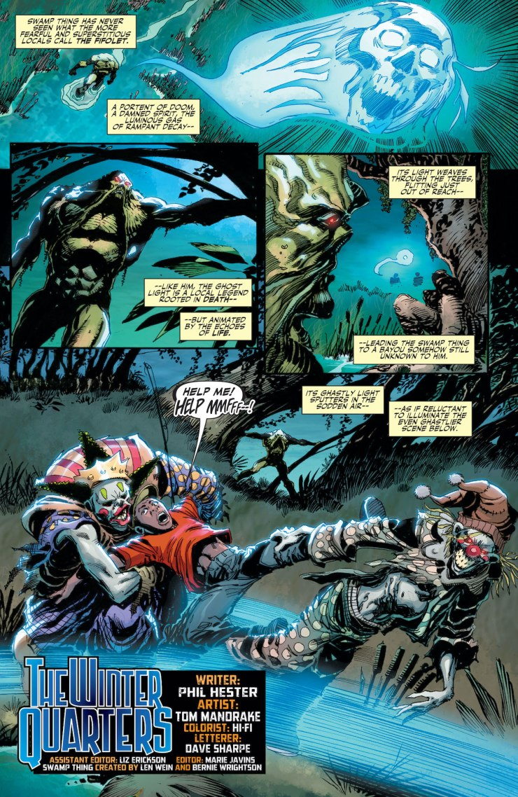 DC Preview: Swamp Thing: New Roots #7