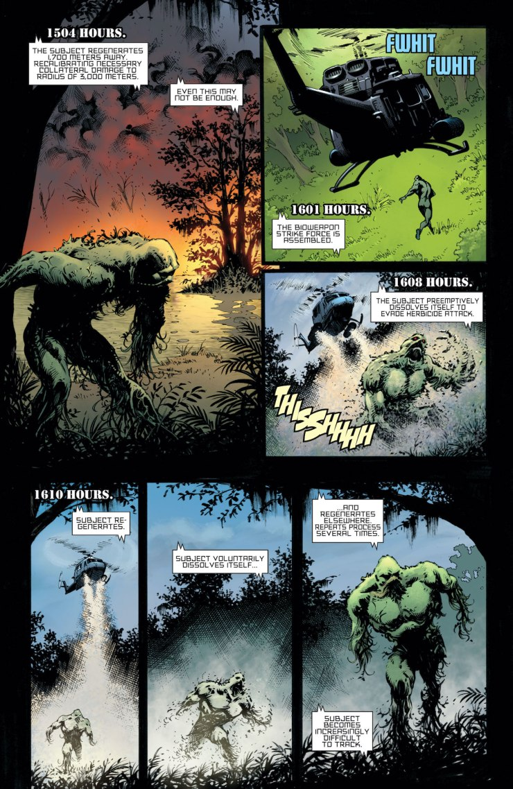 DC Preview: Swamp Thing: New Roots #4
