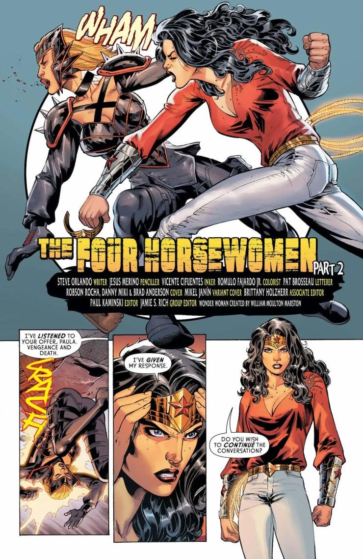 DC Preview: Wonder Woman #756