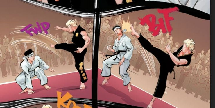 Cobra Kai: The Karate Kid Saga Continues #4 (of 4)