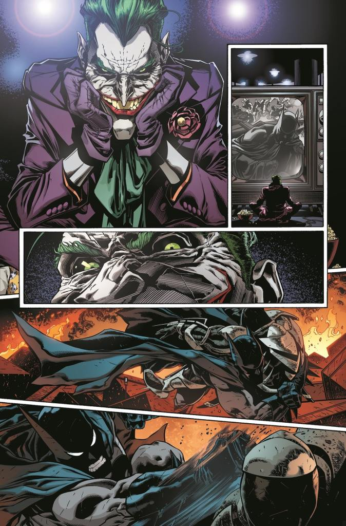 DC First Look: Detective Comics #1024 - Joker watches the boob tube