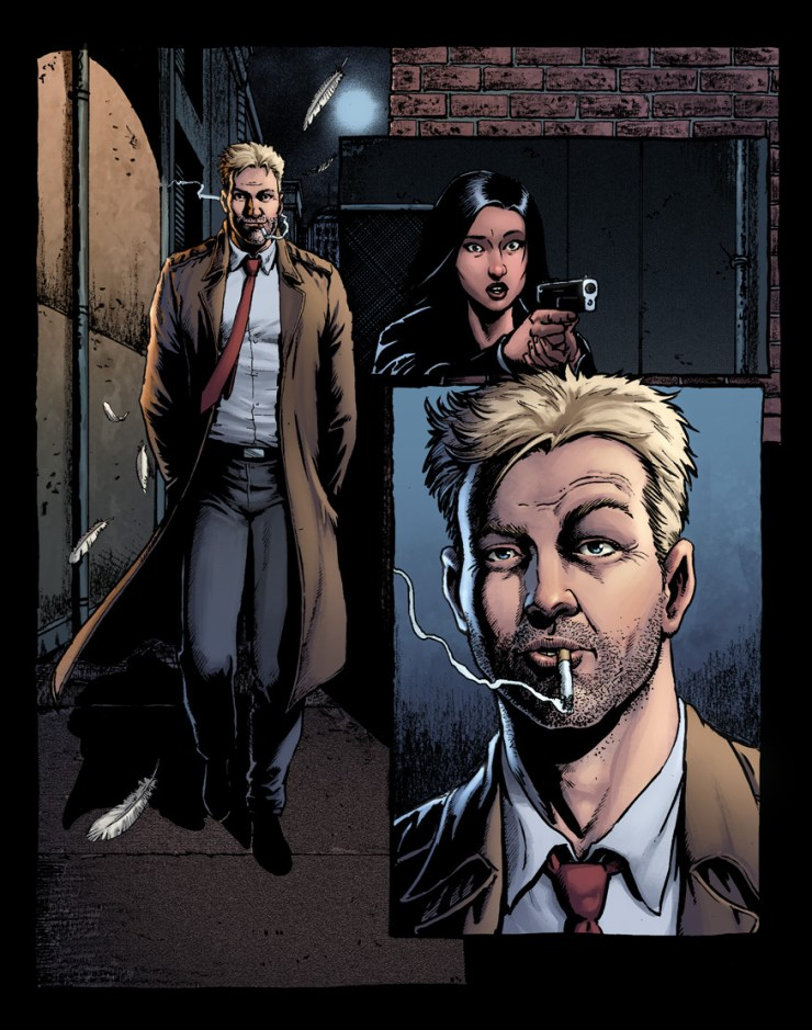 DC Black Label First Look: 'Hellblazer: Rise and Fall' by Tom Taylor and Darick Robertson