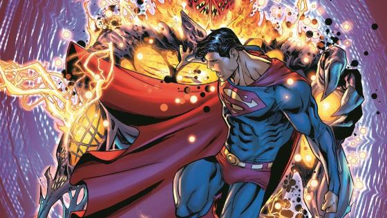 In Superman #23 Dr. Fate will step in to lend a hand...