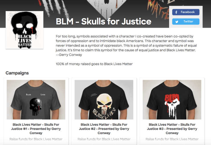 Skulls for Justice Punisher