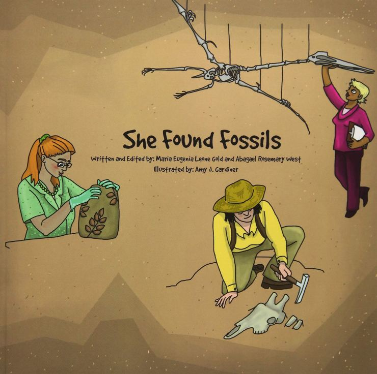 Paleontology childrens book