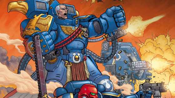 Marvel Comics and Games Workshop join forces for Warhammer 40,000 comic series.