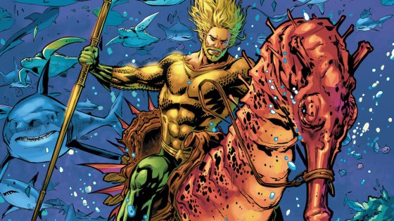 The terror group Scorpio attempts to capture and dissect Aquaman in an effort to create superhuman soldiers!