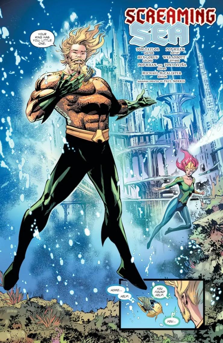 DC Preview: Aquaman: Deep Dives #9