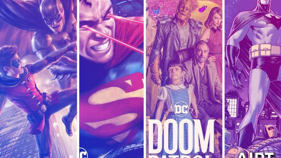 DC Universe adds key animated films and new #1 issues in July.