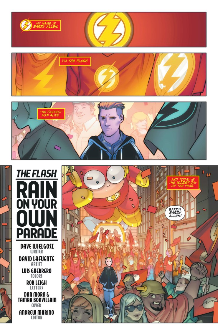 DC Preview: The Flash: Fastest Man Alive #8