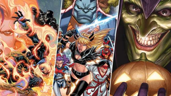 The Marvel Comics solicitations for September are here and they are grand!