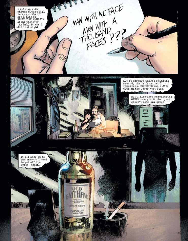 DC Preview: The Question: The Deaths of Vic Sage #3