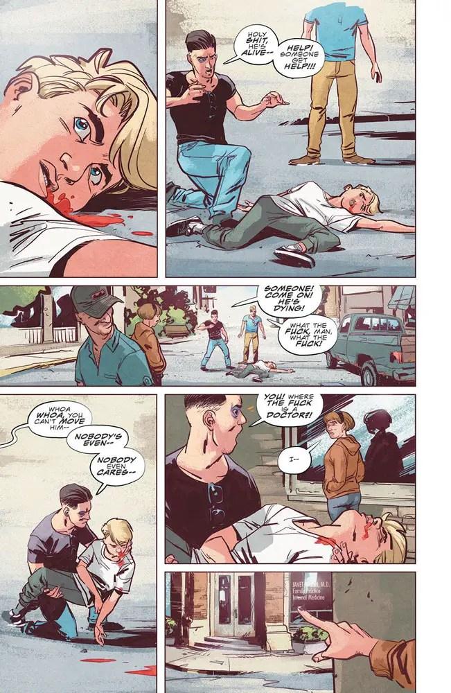 Chip Zdarsky and Ramón K Pérez scare up horror series 'Stillwater' September 16