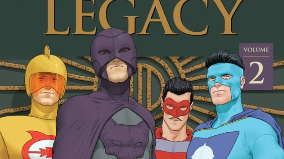 Jupiter's Legacy trade paperbacks are getting reprinted this September.