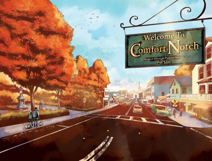 Vault Comics kicks off horror imprint Nightfall with new horror series 'The Autumnal'