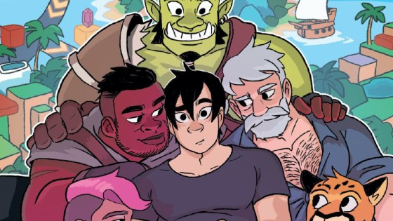 Oni Press announces erotic gamer graphic novel 'Cheat(er) Code' for September 2020