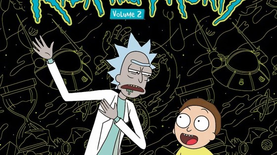 The Art of Rick and Morty Volume 2 drops this November right in time for the holidays.