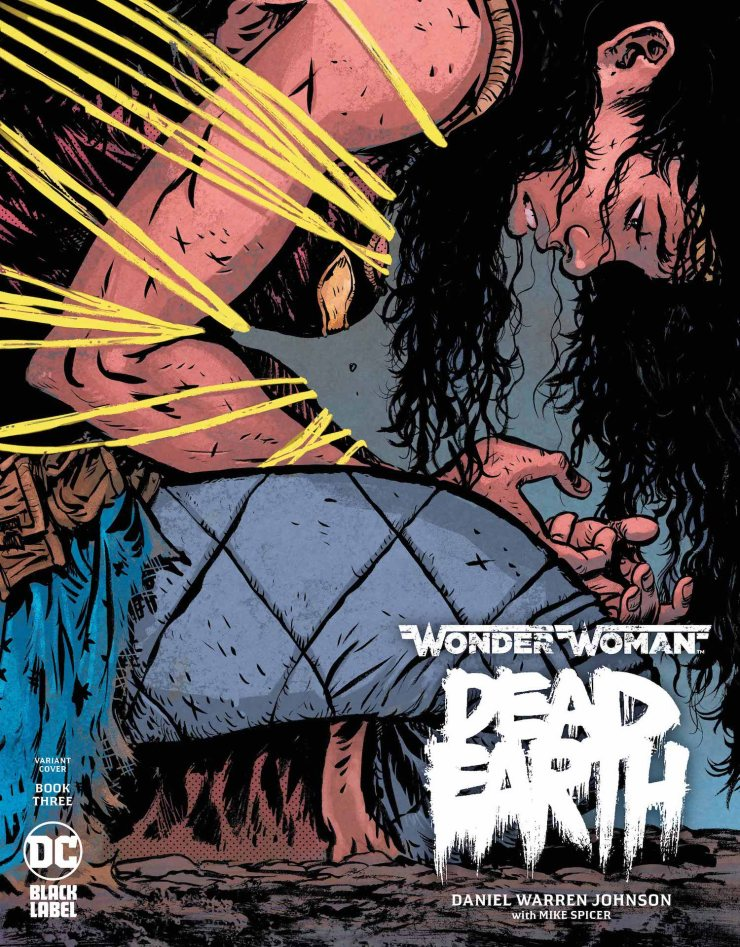 DC Preview: Wonder Woman: Dead Earth #3