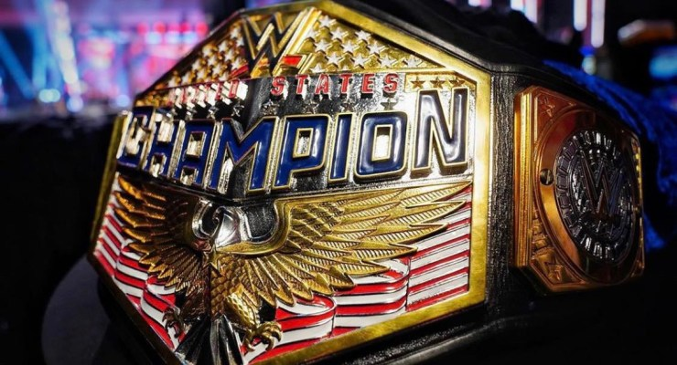 New WWE United States Championshipdesign