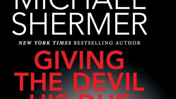 'Giving the Devil his Due: Reflections of a Scientific Humanist' - book review