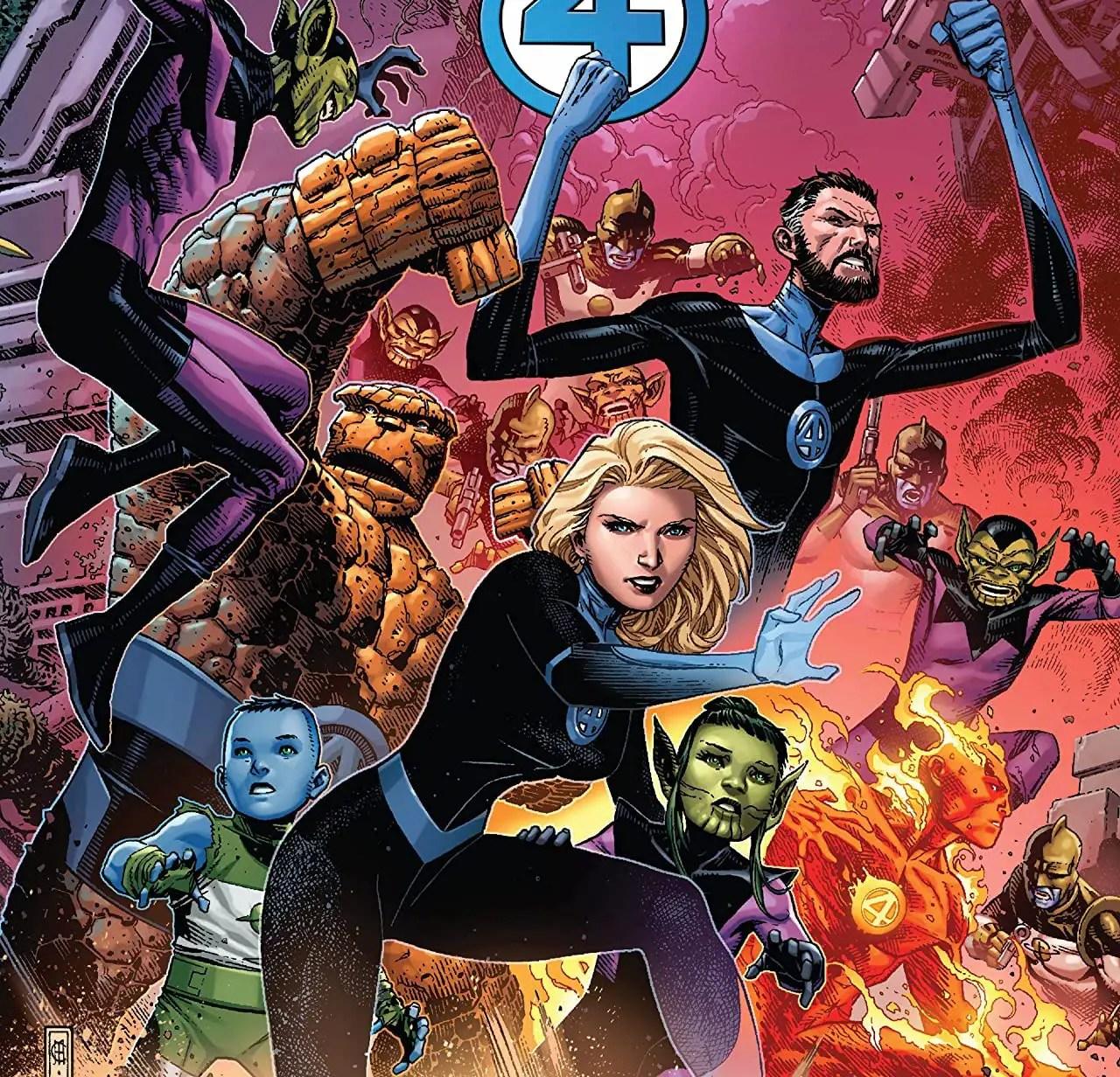 'Empyre #0: Fantastic Four' review: a comics triumph