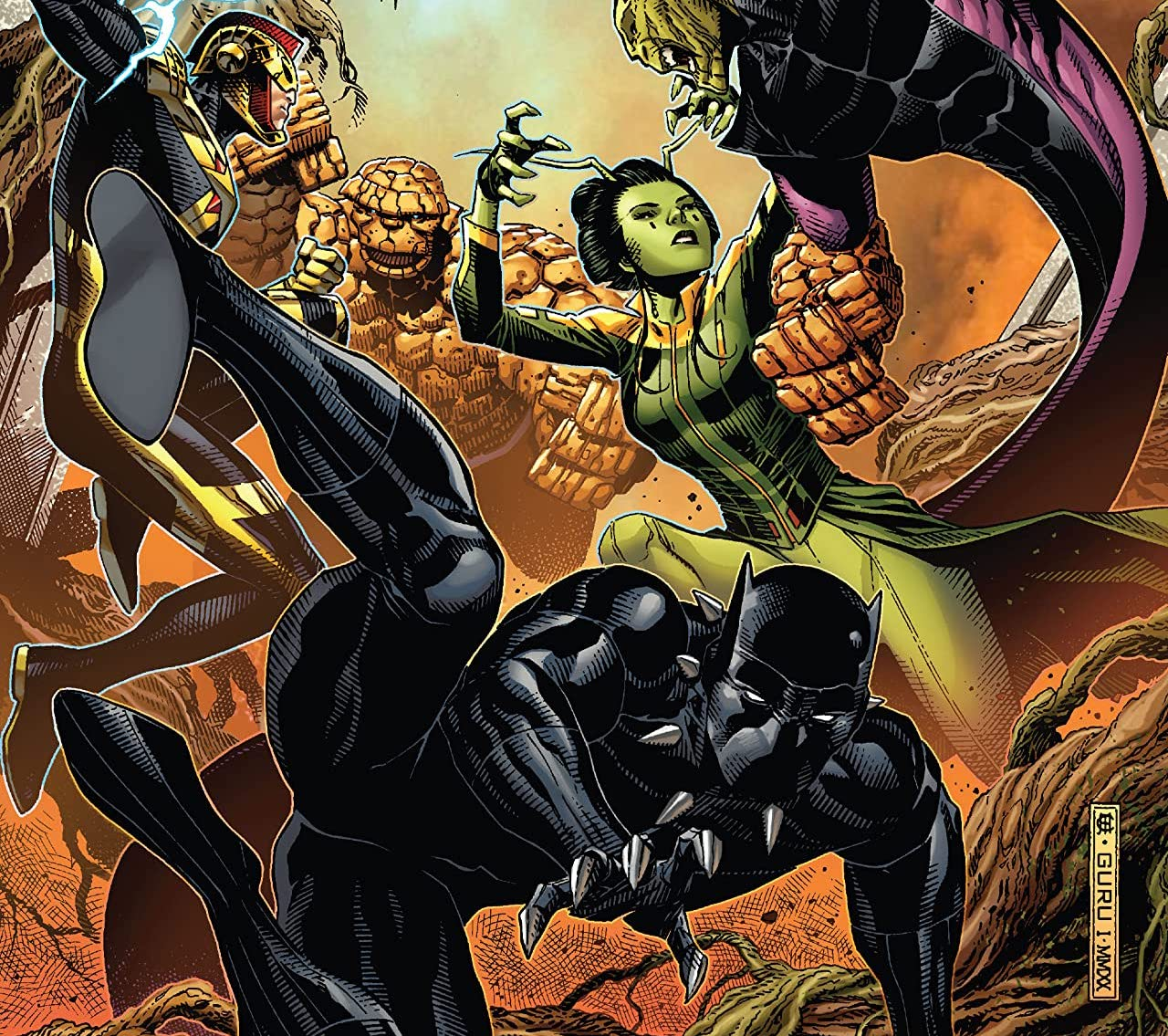 'Empyre' #3 review: Big, loud, and fun