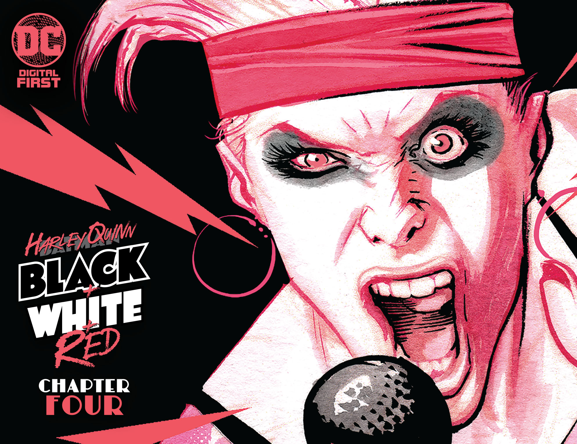 'Harley Quinn Black + White + Red' #4 review