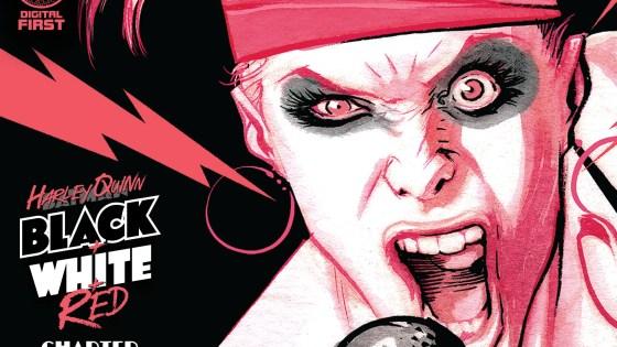 'Harley Quinn Black + White + Red' #4 review