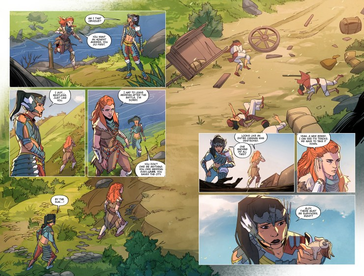 First Look: 'Horizon Zero Dawn' comic book artwork