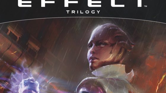 Experience the Mass Effect Trilogy in a new way with this expanded art book.