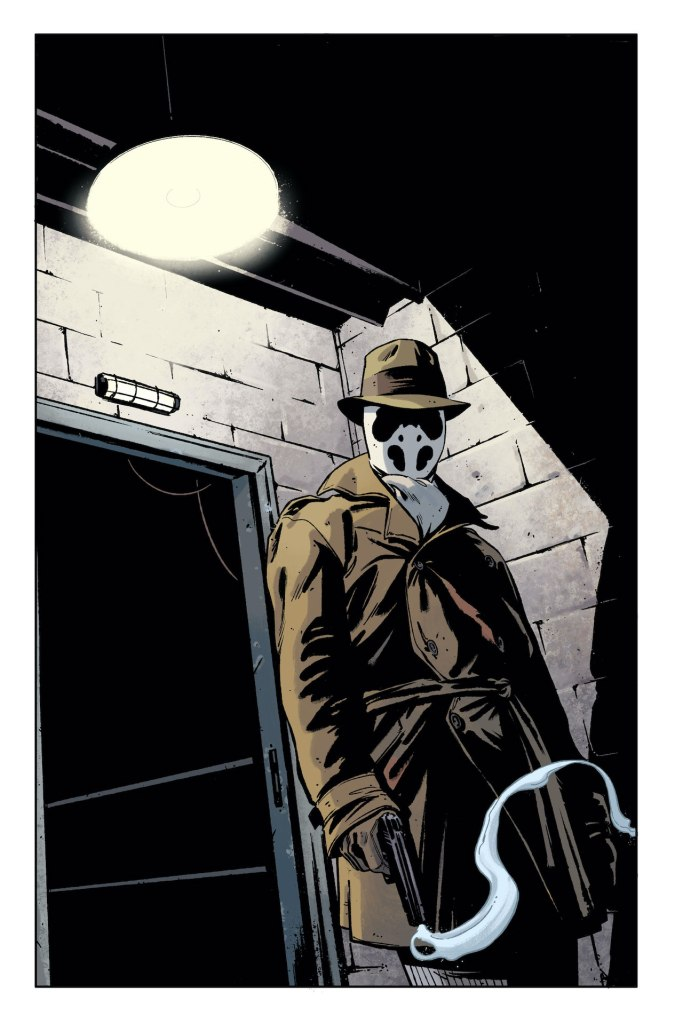 DC Comics dips back into Watchmen with 12-part Rorschach series