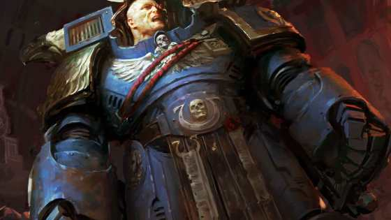 Marneus Calgar featured in Warhammer 40K #1 variant cover.