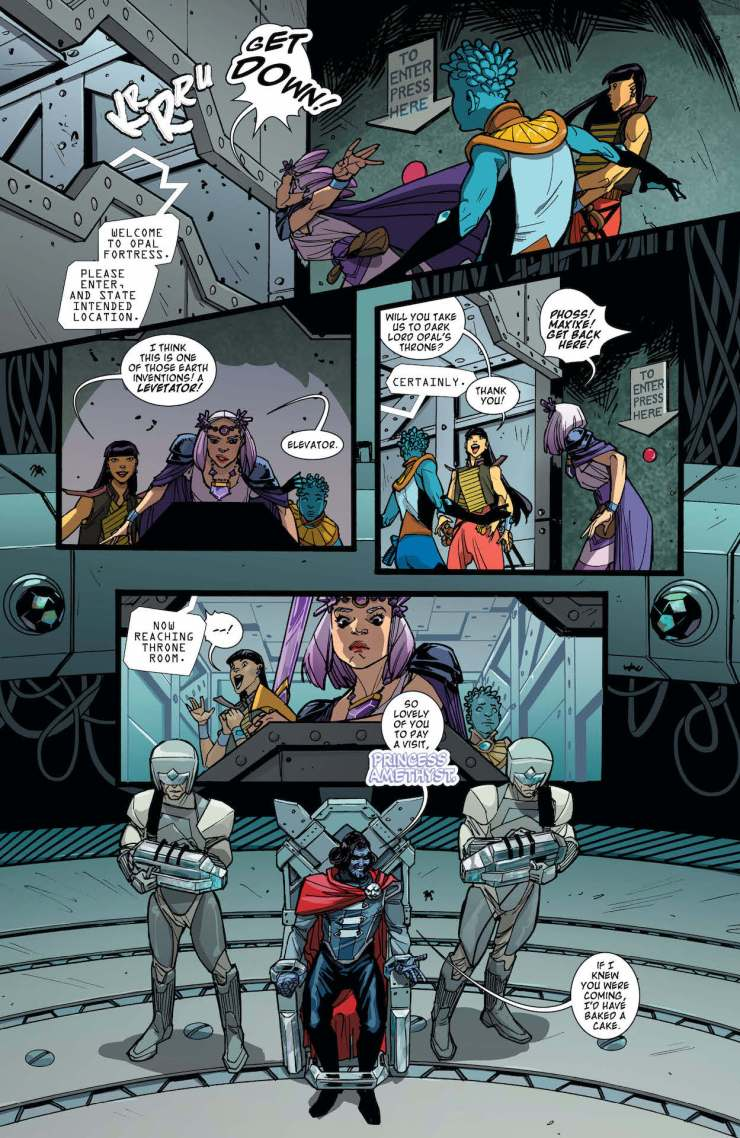 DC Preview: Amethyst #4