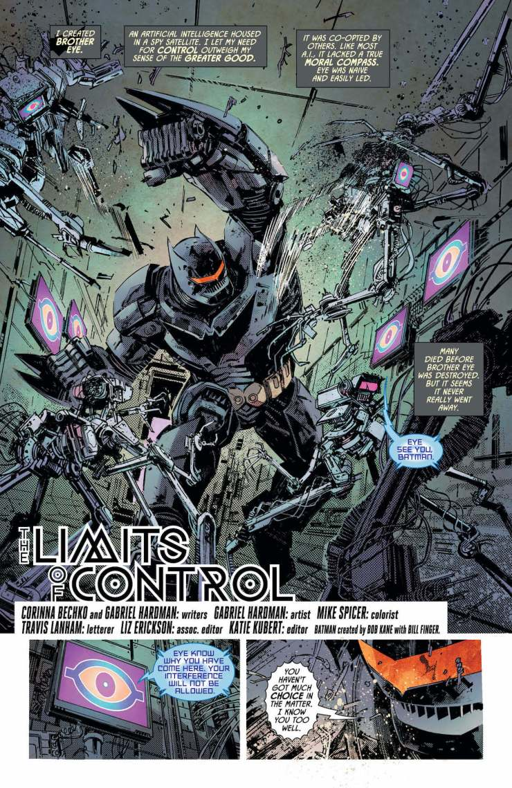 DC Preview: Cybernetic Summer #1