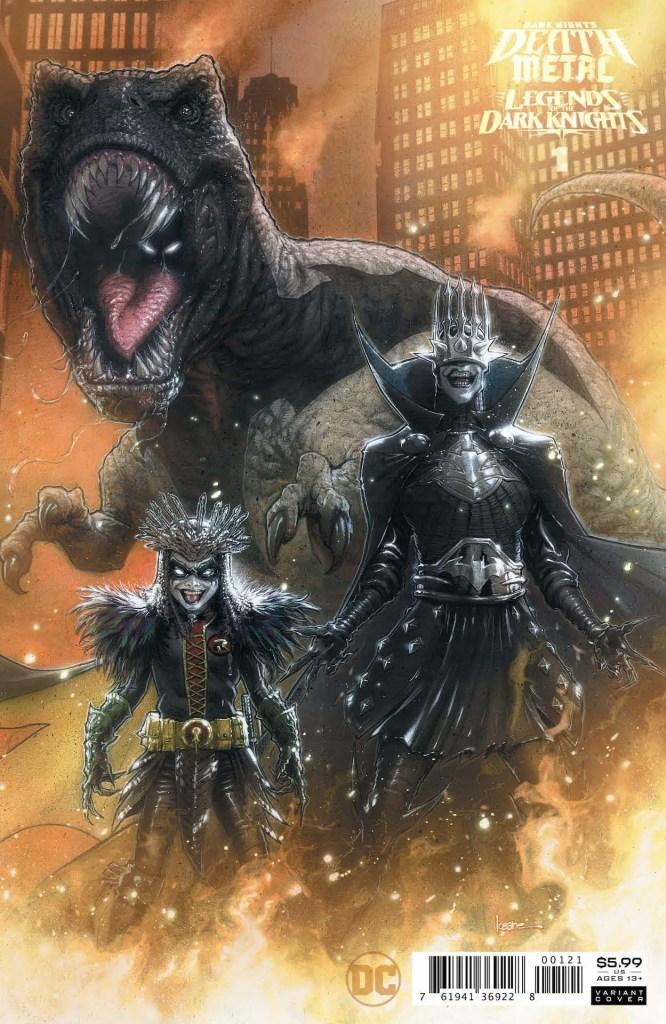 DC Preview: Dark Nights: Death Metal Legends of the Dark Knights #1