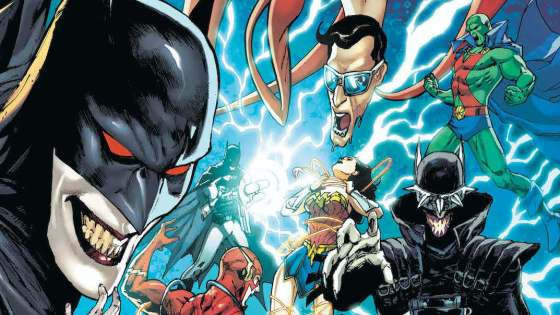 In Legends of the Dark Knights the DC Universe has become engulfed by the Dark Multiverse...