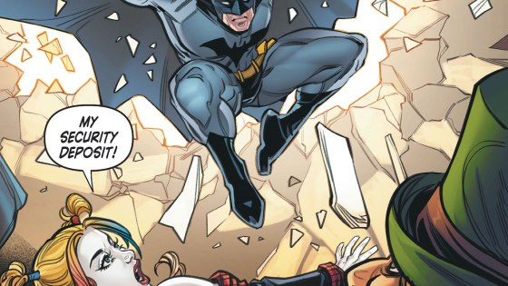 DC Preview: Harley Quinn: Make 'em Laugh #3