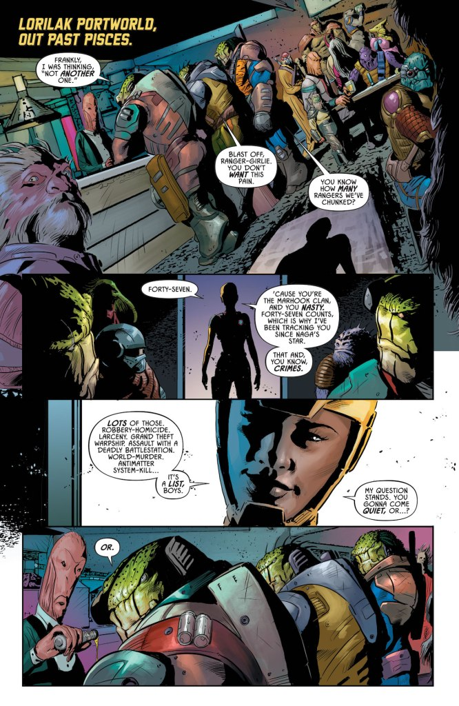 In Justice League Odyssey #22, Darkseid seeks absolute control of time!