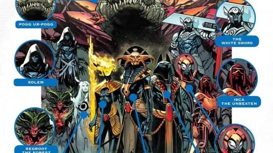 "Marvel Comics teases ""mysterious challengers"" vs. X-Men in 'X of Swords' promo"