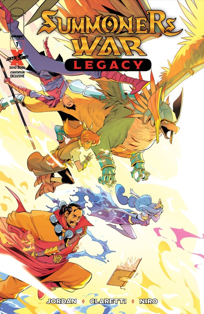 Com2uS, Skybound/Image Comics team up for 'Summoners War: Legacy'