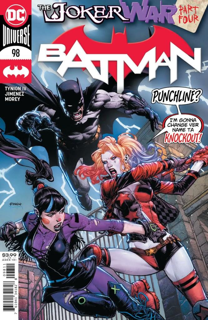 DC First Look: Batman #98 (unlettered)