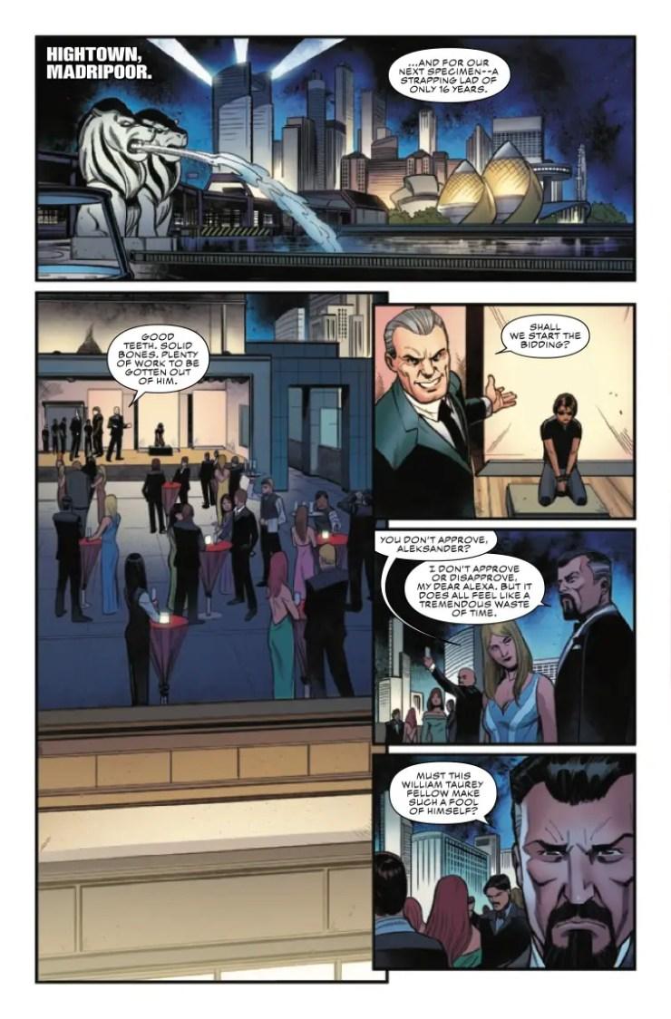 Marvel Preview: Captain America #21