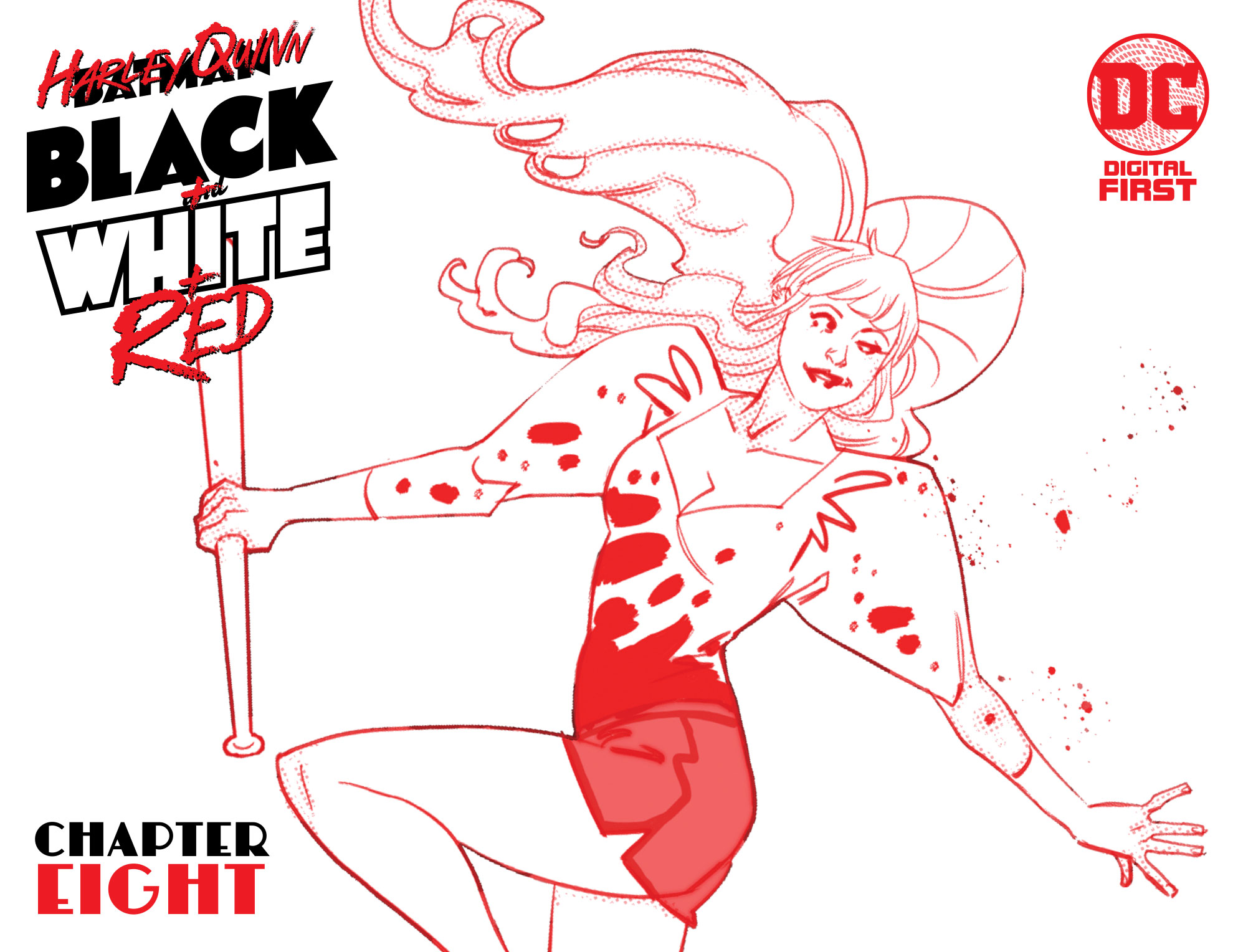 'Harley Quinn: Black + White + Red' #8 review