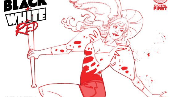 Harley Quinn: Black + White + Red is visually engaging and a lot of fun.