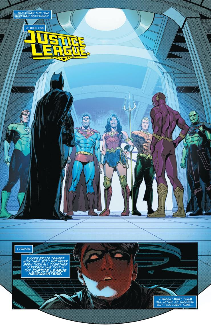 DC First Look: Justice League #53 - 'Doom Metal' Part 1
